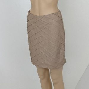 Catherine Malandrino Lamb Leather Skirt Size 2